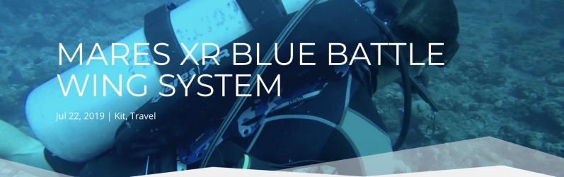 Mares Xr Blue Battle Wing System Review